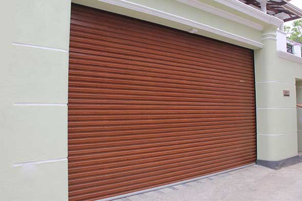 WOODEN FINISH ROLLER DOORS & Roller Doors - Three Sinha